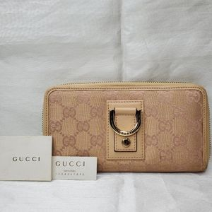 Authentic Gucci Zip Wallet